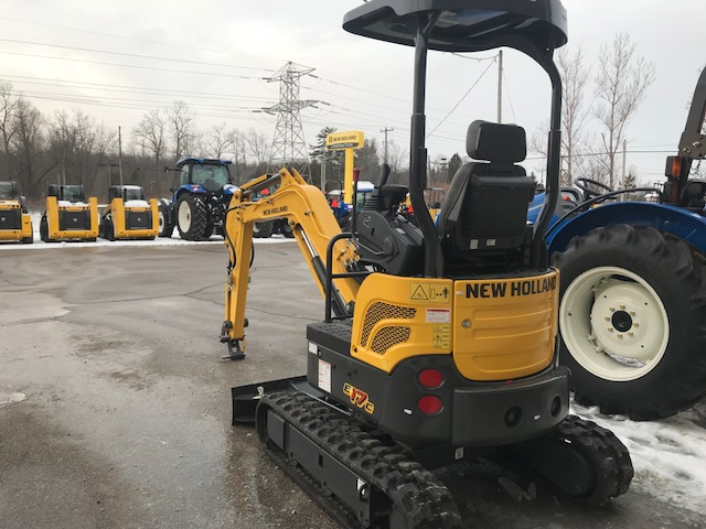 New Holland E17C mini excavator for sale