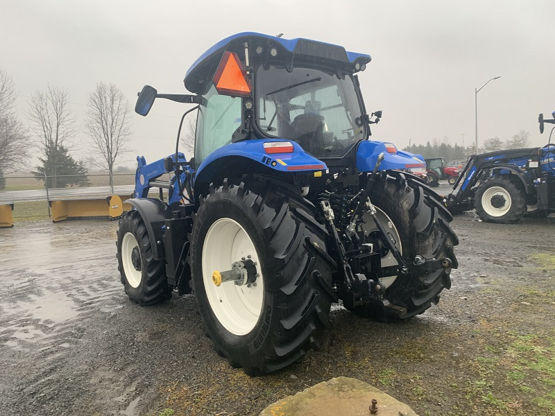 2018 NEW HOLLAND T6.145 ELECTRO COMMAND TRACTOR WITH LOADER