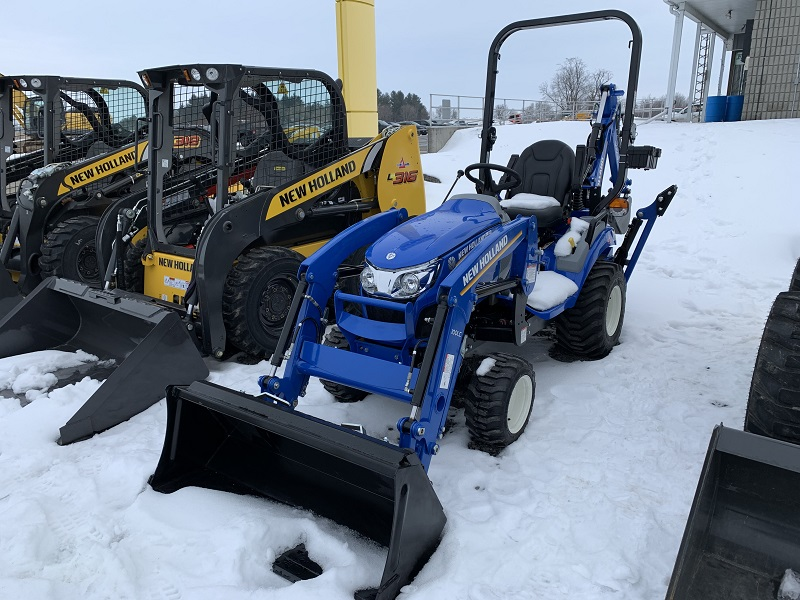 2020 NEW HOLLAND WORKMASTER 25S TRACTOR WITH LOADER
