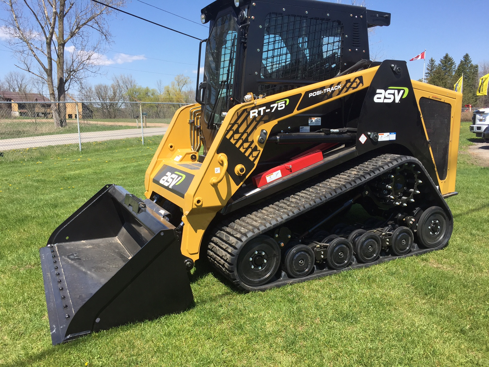 ASV RT75 compact track loaders for sale