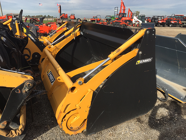 2015 EMILY 230 SILAGE MOBILE ROTO DEFACER BUCKET