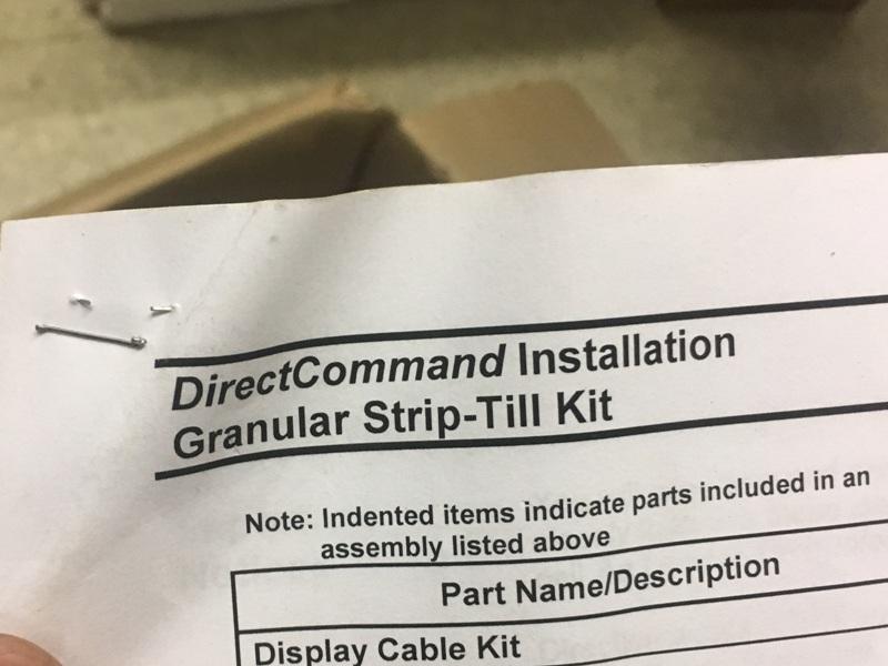 AGLEADER DIRECT COMMAND GRANULAR STRIP TILL KIT
