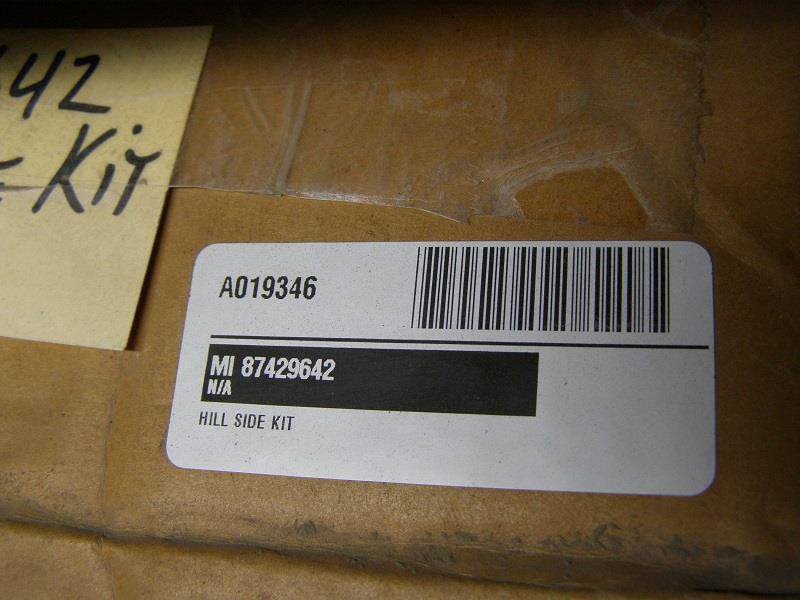 CASE IH COMBINE HILL SIDE KIT# 87229642