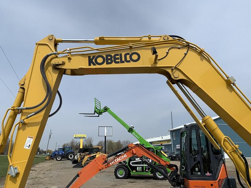 2019 KOBELCO SK85CS-7 SHORT REAR SWING EXCAVATOR