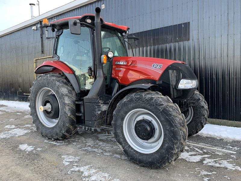 2017 CASE MAXXUM MC 125 TRACTOR