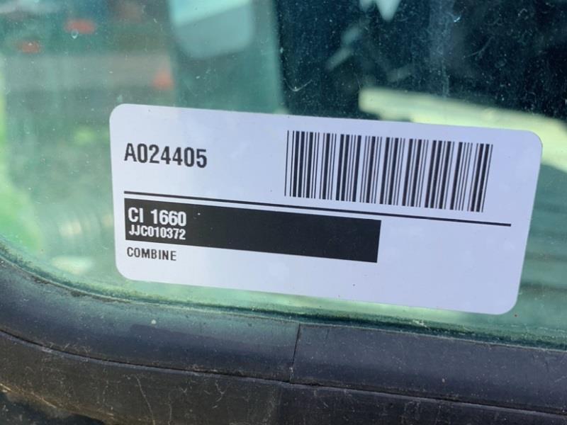 1992 CASE IH 1660 AXIAL FLOW COMBINE