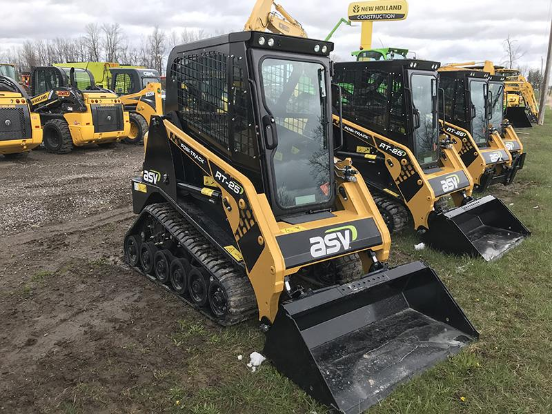 2020 ASV RT-25 COMPACT RUBBER TRACK LOADER