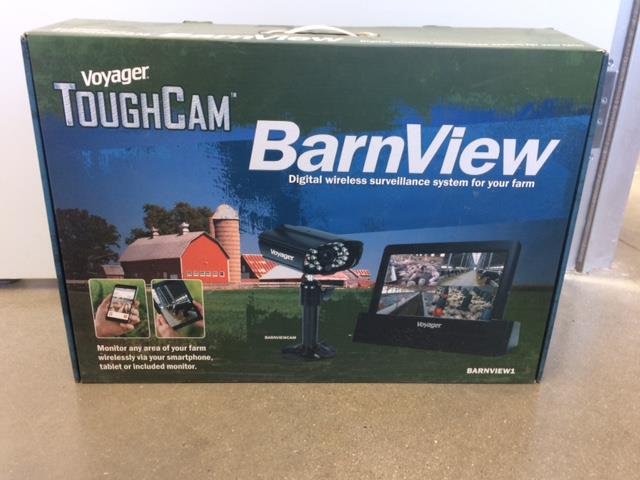 VOYAGER TOUGHCAM BARNVIEW WIRELESS SURVEILLANCE SYSTEM