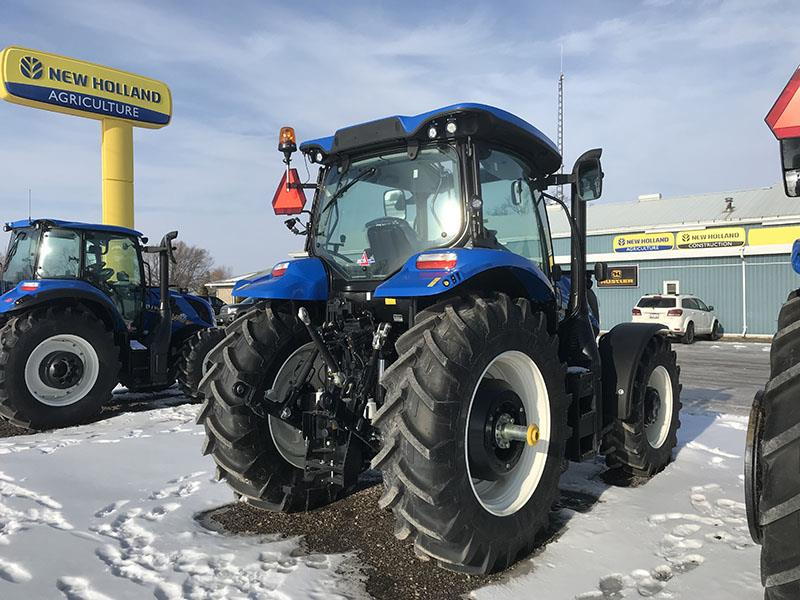 2020 NEW HOLLAND T6.155 ELECTRO COMMAND TRACTOR