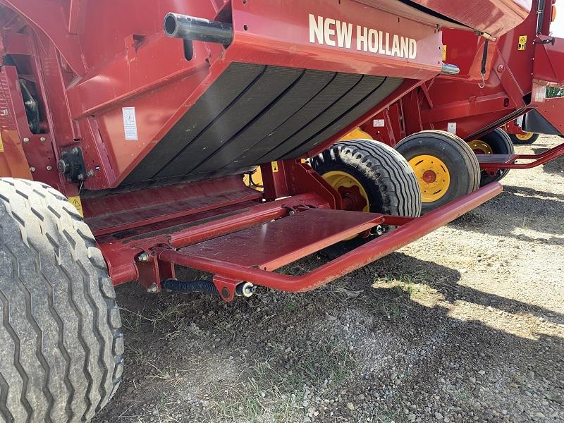 2018 NEW HOLLAND ROLLBELT 450 ROUND BALER