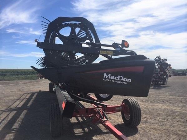 2018 MACDON FD75-40 FLEXDRAPER HEAD