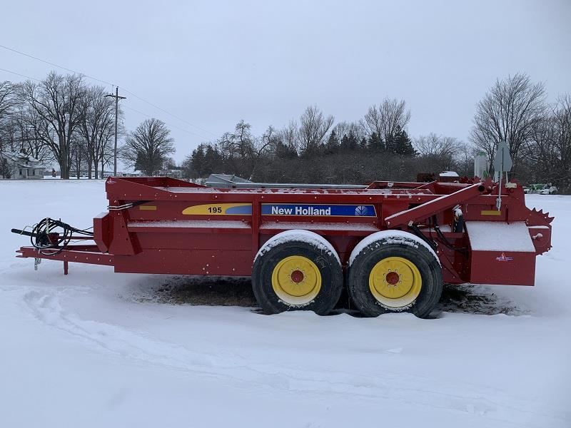 2020 NEW HOLLAND 195HBS MANURE SPREADER