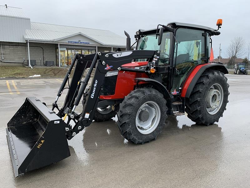 2019 MASSEY FERGUSON 4707 TRACTOR WITH LOADER