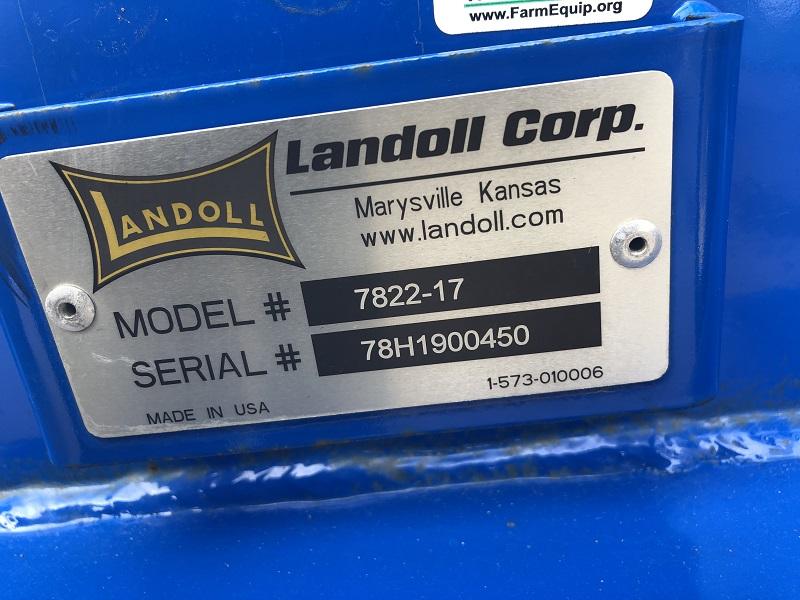 2019 LANDOLL 7822-17 HIGH SPEED LANDOLL (HSL)
