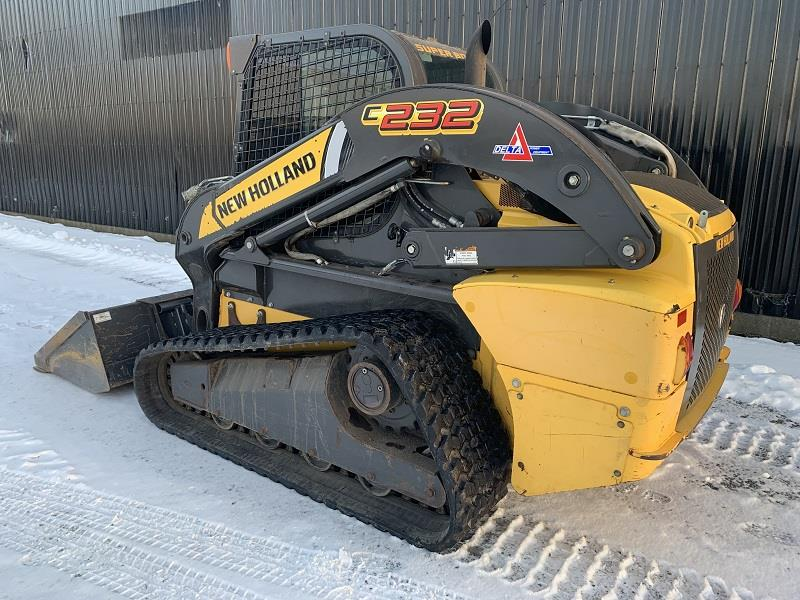 2012 NEW HOLLAND C232 COMPACT TRACK LOADER