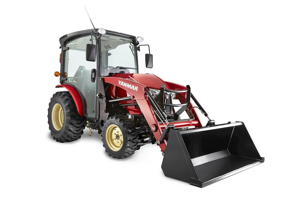 202 YANMAR YT235 COMPACT TRACTOR WITH LOADER