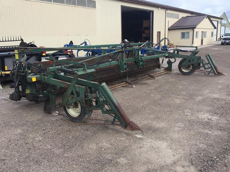 2003 PICKETT C8030 ONE STEP ROD CUTTER /WINDROWER