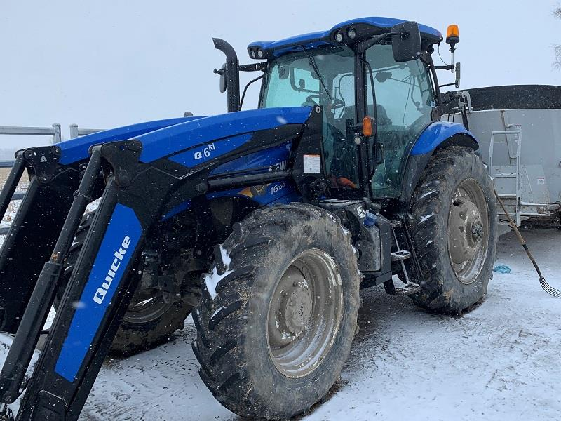 2017 NEW HOLLAND T6.180 TRACTOR WITH LOADER