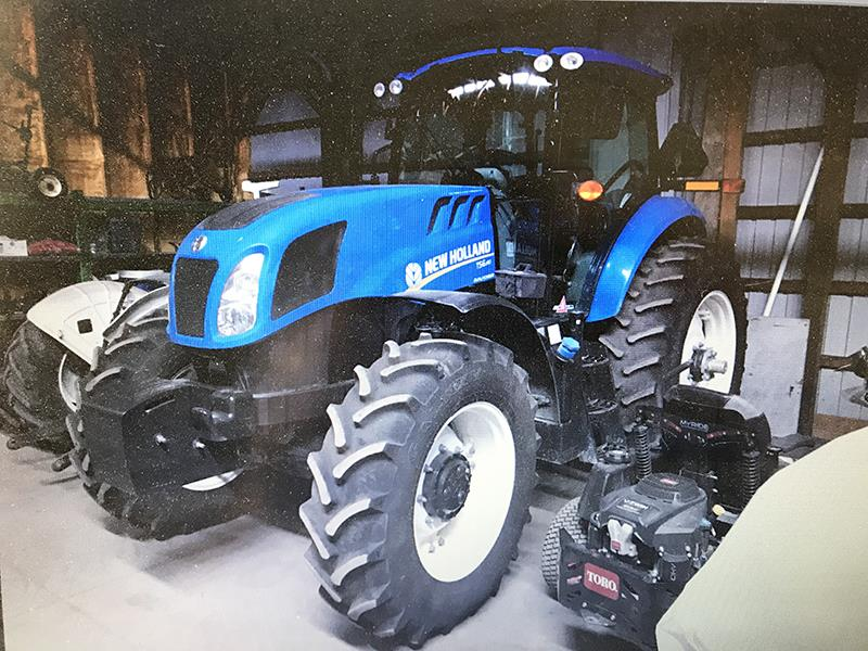 2016 NEW HOLLAND TS6.140 TRACTOR