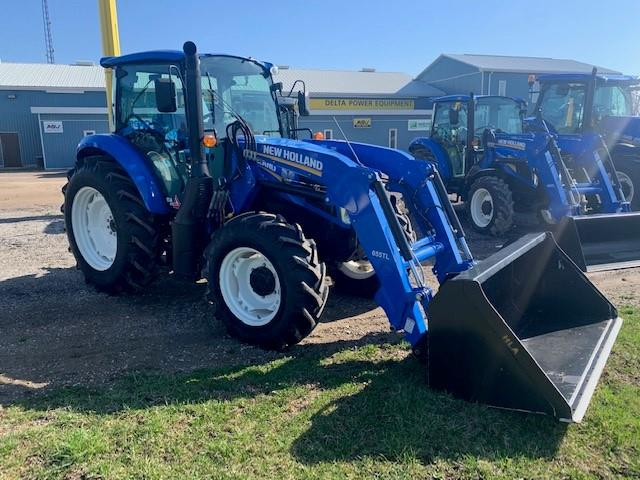 2016 NEW HOLLAND T4.110 CAB TRACTOR WITH LOADER