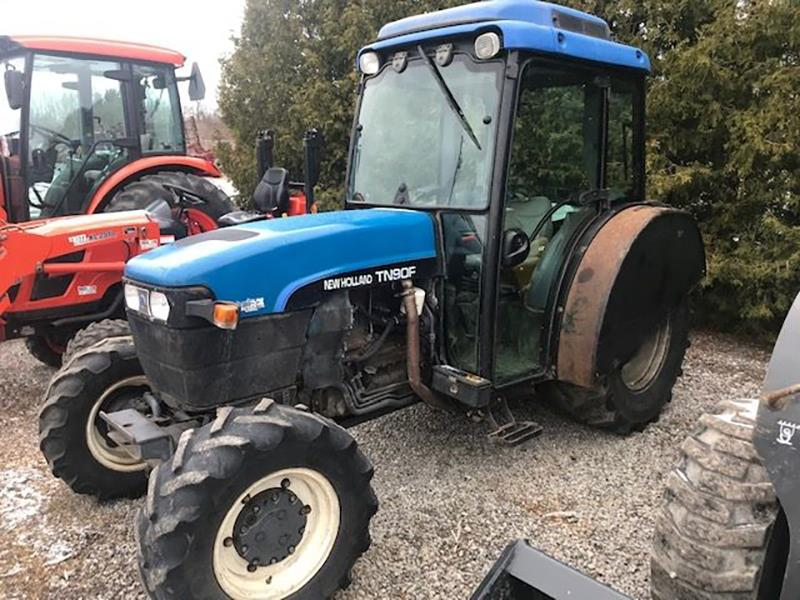 2001 NEW HOLLAND TN90F TRACTOR