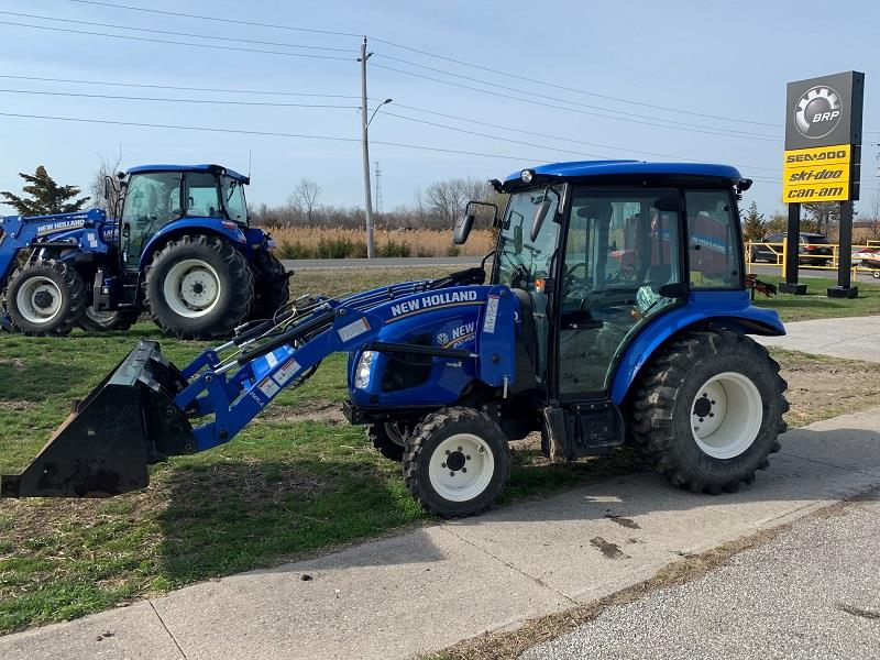 2019 NEW HOLLAND BOOMER 40 TRACTOR AND LOADER