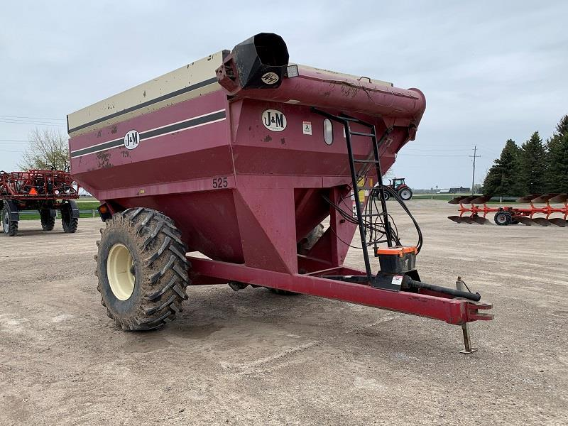2001 J&M 525 GRAIN CART
