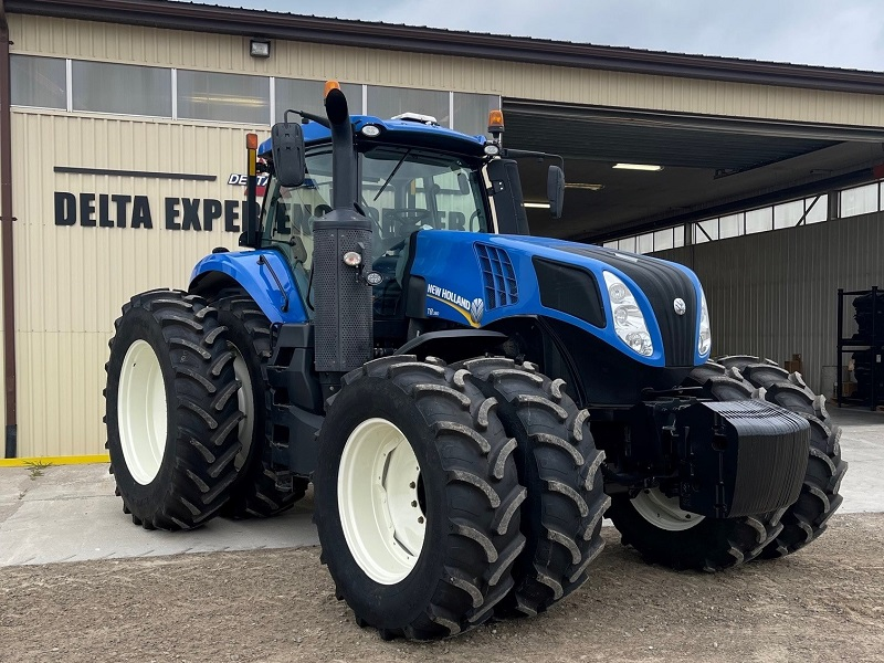 2018 NEW HOLLAND T8.380 TRACTOR