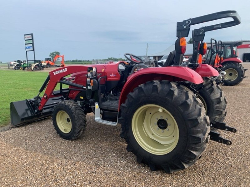 2020 YANMAR YT347 COMPACT TRACTOR WITH LOADER