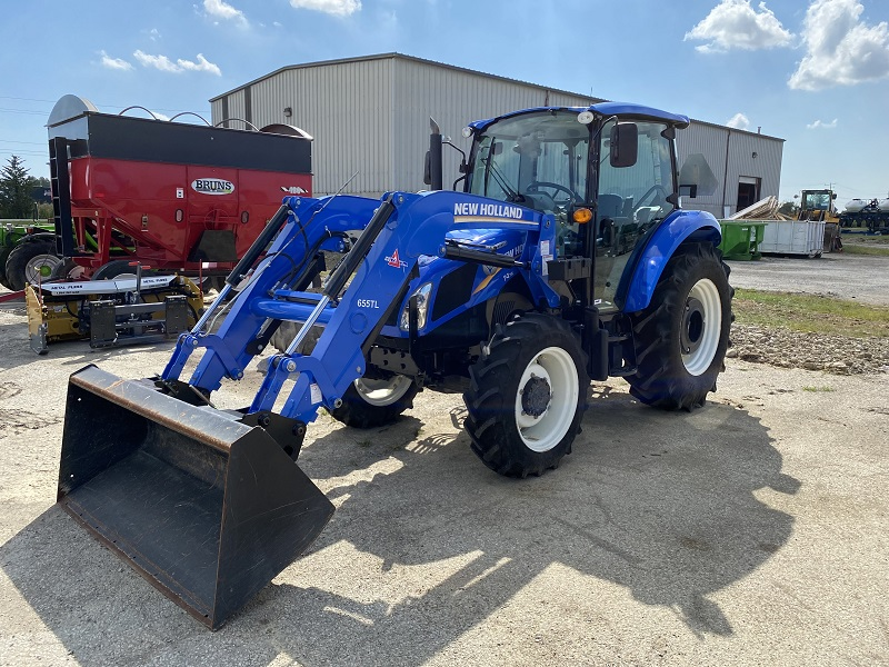 2017 NEW HOLLAND T4.75 TRACTOR WITH LOADER