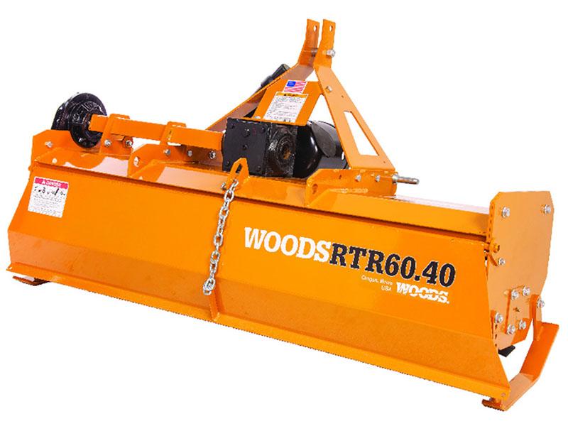 2021 WOODS RT60.40KO ROTARY TILLER