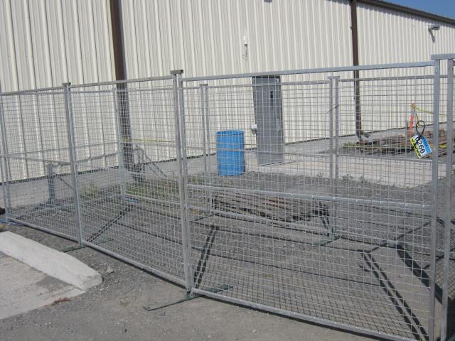 Galvanized Dog Kennel