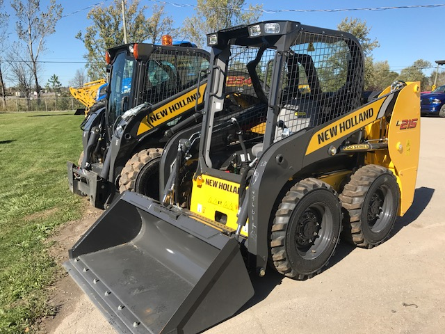 New Holland L215 skid steer for sale