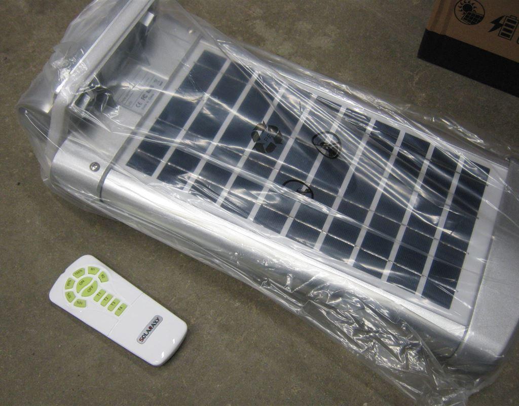 10W Solar Courtyard Light