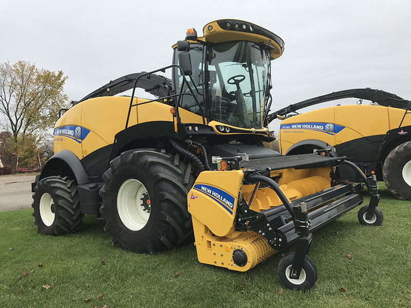 2018 NEW HOLLAND FR550 FORAGE HARVESTER