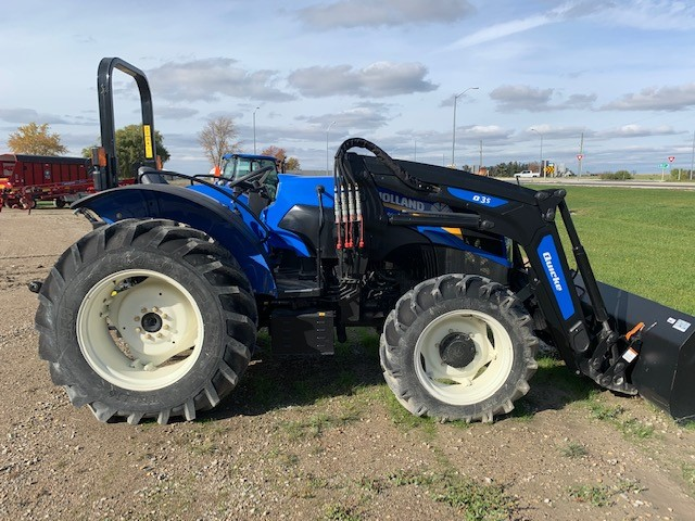 2020 NEW HOLLAND WORKMASTER 105 TRACTOR WITH LOADER