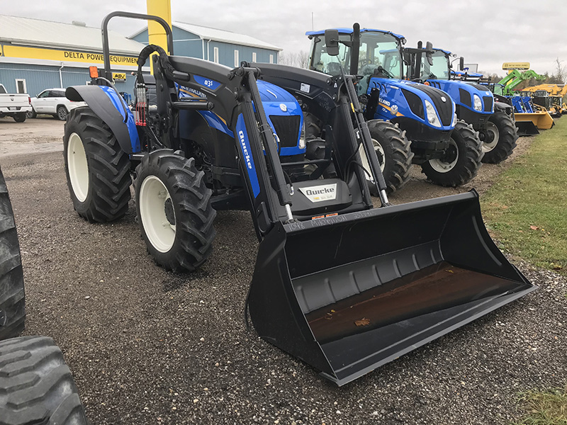 2020 NEW HOLLAND WORKMASTER 95 TRACTOR WITH LOADER