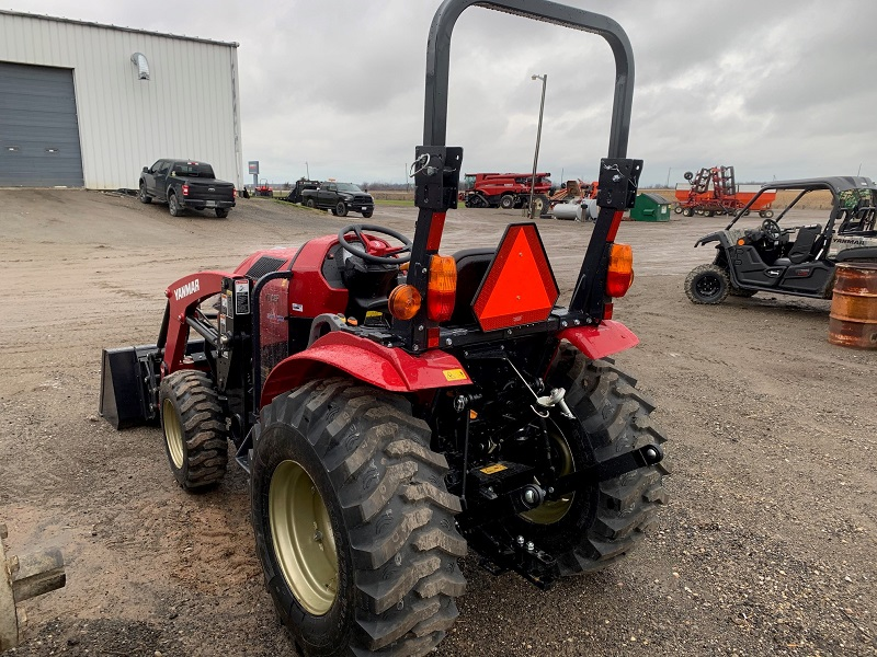 2020 YANMAR YT235 COMPACT TRACTOR WITH LOADER
