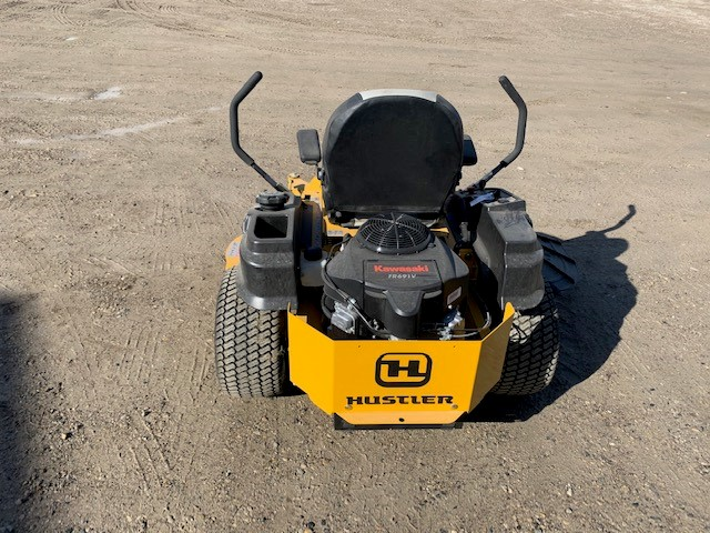 "2020 HUSTLER RAPTOR FLIPUP 54"" ZERO TURN MOWER"