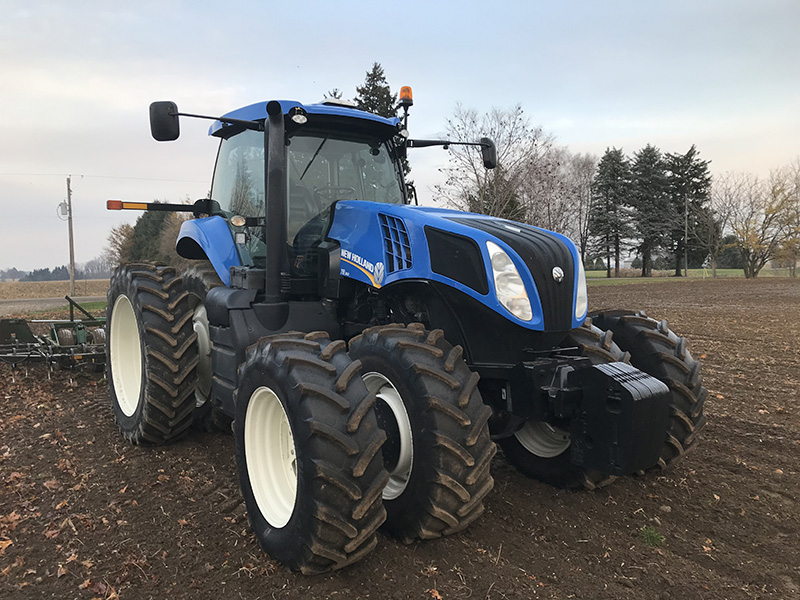 2012 NEW HOLLAND T8.360 TRACTOR
