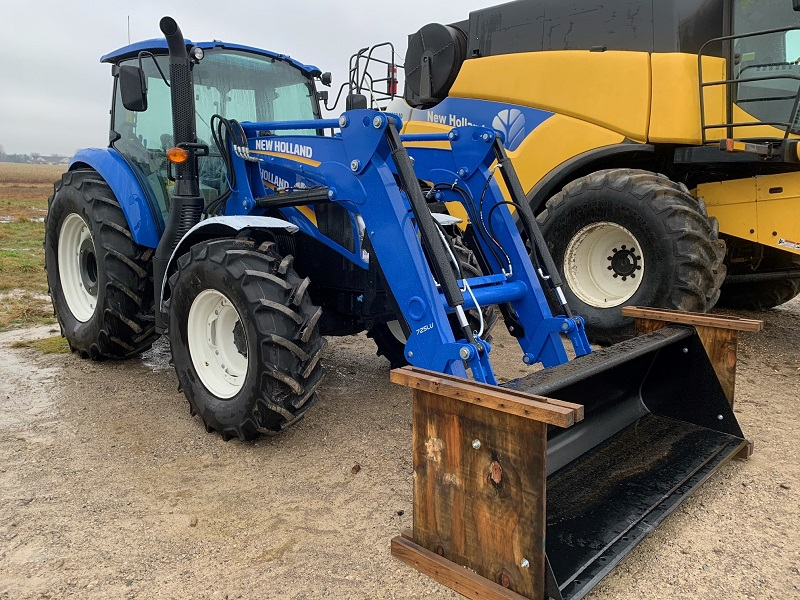 2020 NEW HOLLAND T5.100 DC TRACTOR WITH LOADER