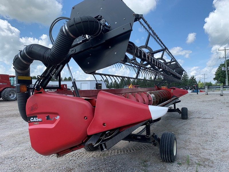 2012 CASE IH 3020-30 FLEX HEAD WITH CRARY AIR REEL