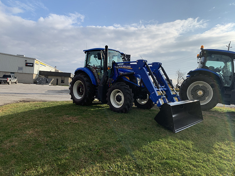 2020 NEW HOLLAND POWERSTAR 110 TRACTOR WITH LOADER