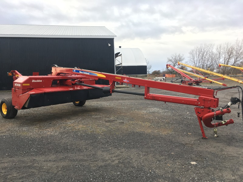 2013 NEW HOLLAND H7450 DISCBINE MOWER CONDITIONER