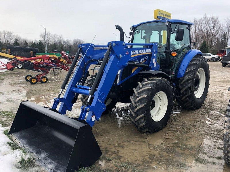 2020 NH T5.110 DC TRACTOR WITH LOADER