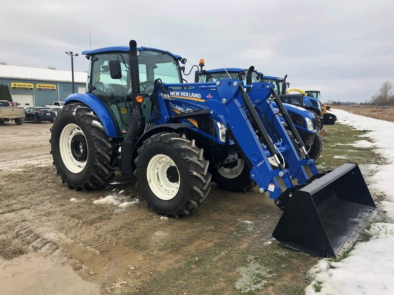 2020 NEW HOLLAND T5.110 DC TRACTOR WITH LOADER
