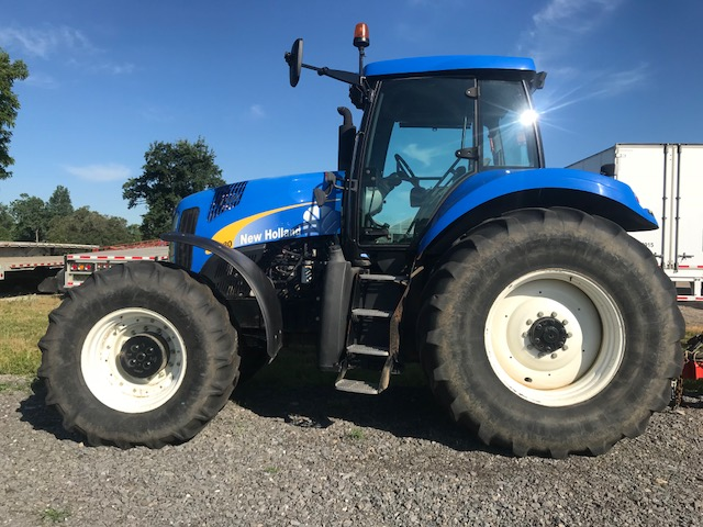 New Holland T8030 Tractor with Supersteer For Sale