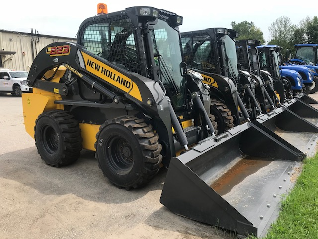 New Holland L223 skid steer for sale