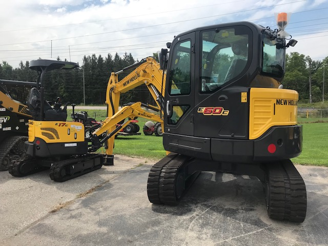 New Holland E60C Excavator for sale - new model !