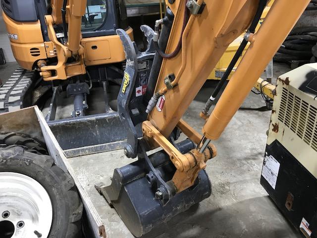 Case CX36B mini excavator - only 38hrs !